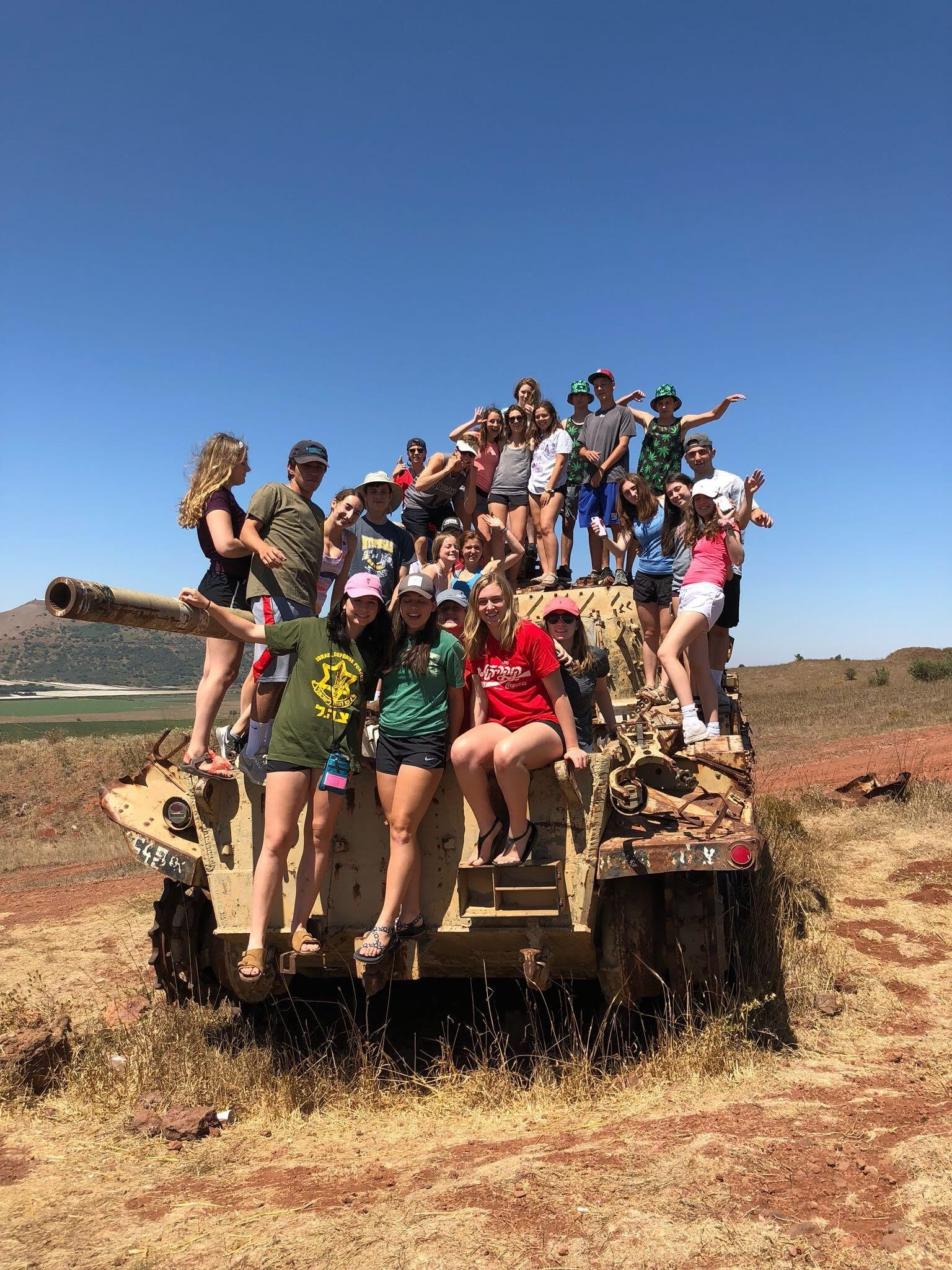 Camp Seneca Lake - CSL in Israel 2018